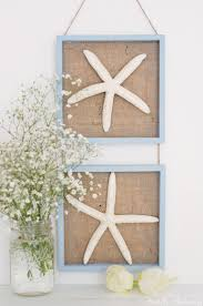 diy starfish wall art