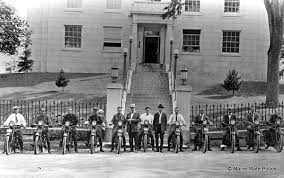 vintage motorcycles maine state troopers foundation