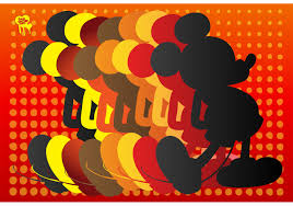 Mickey Mouse Silhouette 65921 - Download Free Vectors, Clipart Graphics &  Vector Art