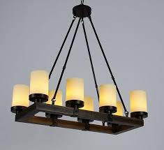 best rustic candle chandelier