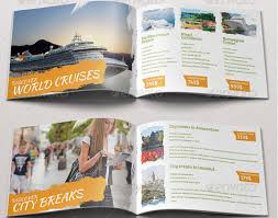 Fun Brochure Templates 10 Appealing Travel Tourism Brochure Templates To Boost
