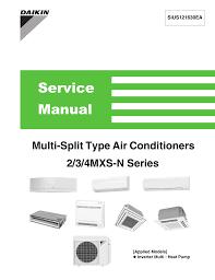 Daikin Inverter Ac Blinking Green Light Service Manual Manualzz Com