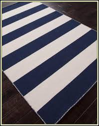 navy and white striped rug australia