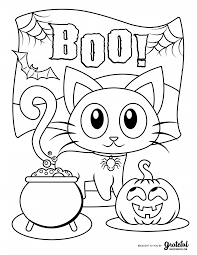 I know kids who really like you to put a mark for the right color, too. Free Halloween Coloring Pages For Kids Or For The Kid In You