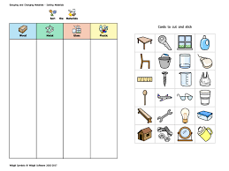 Widgit - Materials Sorting Activity by Widgit_Software - Teaching ...