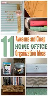organized office ideas. 11 Awesome And Cheap Home Office Organization Ideas For Small Spaces. . Achieve An Organized