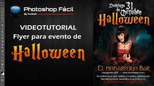 Como Hacer Flayers Flyer Para Evento De Halloween Photoshop Yanko0