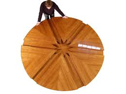image of round kitchen table