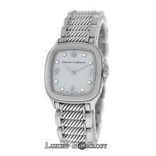 david yurman ladies watch authentic lady david yurman t304 xs thoroughbred steel mop diamond quartz watch