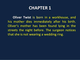 oliver twist chapter summaries 10
