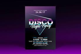 Part Flyer Disco Night Party Flyer