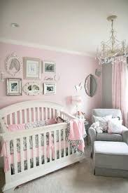 Baby Girl Room Ideas For Gray Nurseries Pink And
