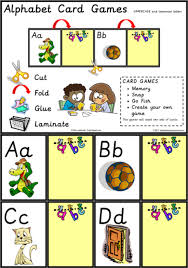 Alphabet Card Alphabet Card Games Uppercase Lowercase Letters Abc Teaching