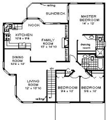 Small Home Plan With Very Simple Lines And Shapes Affordable To Affordable House Plans To Build