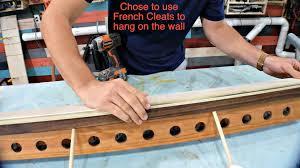 diy baseball bat holder for wall