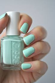 25+ beautiful Mint green nails ideas on Pinterest   Mint acrylic ...