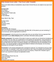12 13 Cover Letter Examples For Data Analyst Lascazuelasphilly Com