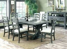 distressed wood chairs white dining table set with solid chair distressed wood chairs image 0 white vine dining