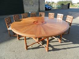 8ft diameter antique round table 2 4 metre round late victorian arts crafts round dining