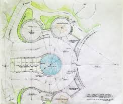 Plans  Earthbag Building and Construction Plans Page    earthbag dome space planning  earthbag homes  earth living