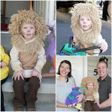 homemade lion costume