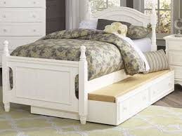 twin platform bed with trundle. Homelegance B1799T-1 Cottage White Wood Kids Twin Platform Bed Trundle Twin Platform Bed With Trundle