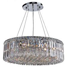 worldwide lighting cascade collection 12 light polished chrome crystal chandelier