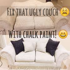 Painted a 20 year old couch using chalk paint!!