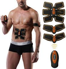 <b>Smart</b> Muscle Abdominal Fitness Toning <b>Belt Trainer</b> Abs Stimulator ...