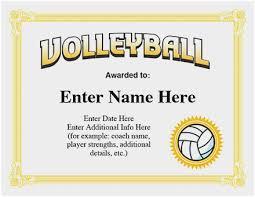 softball award certificate free softball certificate templates awesome volleyball award