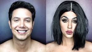 male makeup artists who are conquering paolo ballesteros as himself left and kylie jenner right