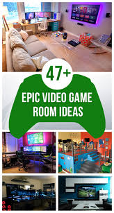 47 epic video game room decoration ideas for 2016 cheap design a bedroom bedroom comely excellent gaming room ideas