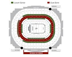 Idaho Center Concert Seating Chart Seating Map Honda Center
