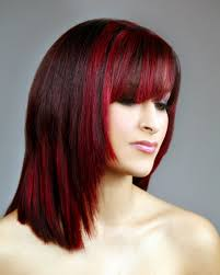Dark Hair Style dark red brown hair color with highlights hairstyle picture magz 2401 by wearticles.com
