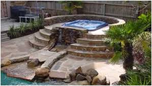 Full Image For Beautiful Backyard Fire Pit Hot Tub Ideas Home