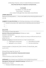 Free Basic Resume Templates Microsoft Word | Nfcnbarroom.com