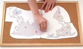 Image World Map Diycorkboardmapstep1jpg Doodle And Stitch Diy Cork Board Map Doodle And Stitch