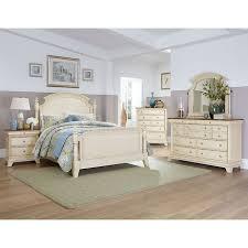 Imposing Decoration Antique White Bedroom Set Antique White
