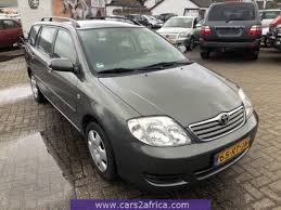 TOYOTA Corolla 1.6 #66086 - used, available from stock
