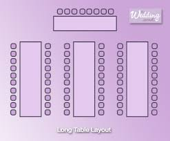 Wedding Reception Table Layout Table Layouts For Wedding