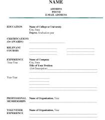 Printable Blank Resume Forms Custom Job Resume Form Format 48 R 48 Grand Furthermore Written Formal