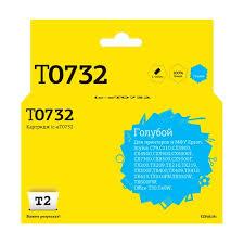 Цена на <b>Картридж T2</b> C13T07324A, <b>IC</b>-<b>ET0732</b>, голубой