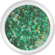 Glitry 4 Tmavě Zelené