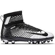 nike football cleats. nike men\u0027s lunarbeast elite football cleat black/white/metallic silver/black size 9 cleats