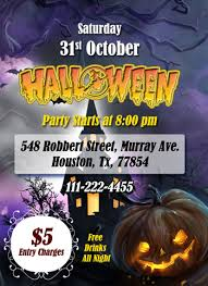 Ms Word Halloween Party Flyer Office Templates Online