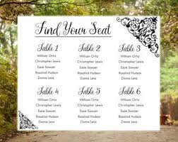 seating chart for wedding reception wedding seating chart airplane printable file aviation