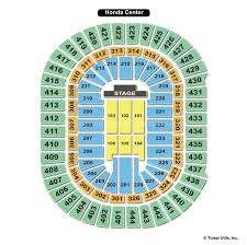 Staples Center Seating Chart For Ufc Honda Center Anaheim Ca Seating Chart View