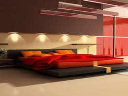 modern bedroom red. Bedroom:Bedroom Modern Ideas As Furniture In The Fabric Red And Blankets Colorful Bedroom