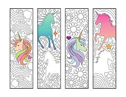 By editor · june 5, 2017. Unicorn Bookmarks Pdf Zentangle Coloring Page Etsy