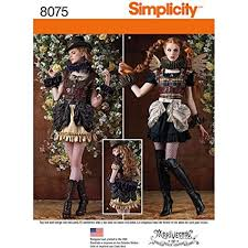 Steampunk Patterns Amazing Amazon Simplicity Patterns Misses' Steampunk Costumes Size R48